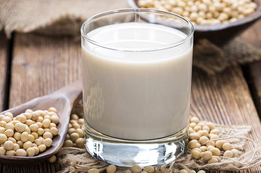 is soy milk healthy?